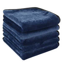 SUNLAND démaquillant tissu réutilisable serviette de nettoyage du visage microfibre chiffons de toilette sans produits chimiques 10inX10in 6 Pack