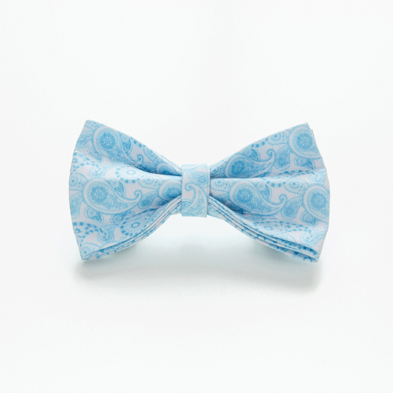 Paisley Pet Collar Bow Deconstructable Dog Neck Ring Accessories Bow Dog Gentleman Bowtie