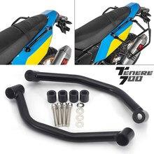 Nowy dla YAMAHA TENERE 700 akcesoria motocyklowe pasażera tylne Grab uchwyt CNC siedzenia ręcznie uchwyt Grab Bar Rail