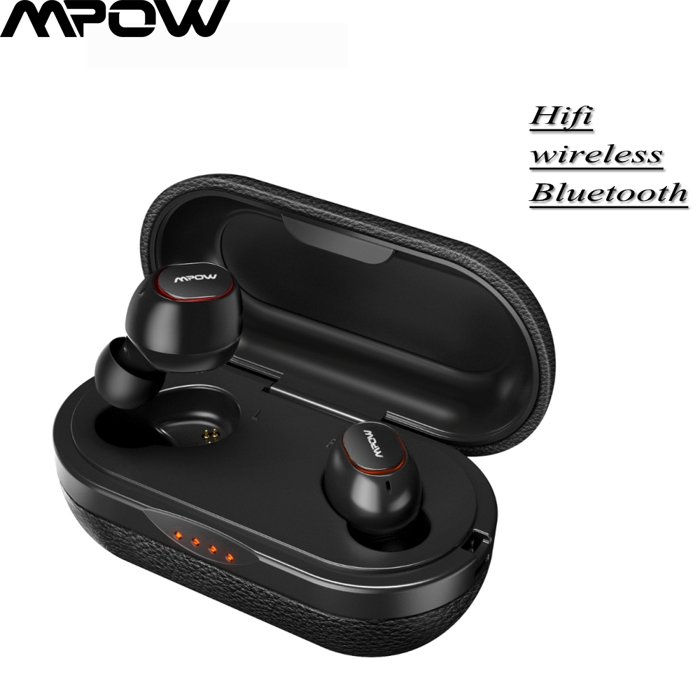 Original <font><b>Mpow</b></font> <font><b>T5</b></font>/M5 IPX7 Wireless <font><b>TWS</b></font> Earbuds APTX 5.0 Earphones 36H Playing 3D Stereo Noise Cancelling Headphones With Mic image