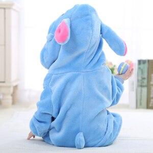 Image 3 - Baby Kigurumis Boy Girl Costume Warm Soft Flannel Pajama Onesie Cartoon Anime Cosplay Kid Birthday Gift Party Suit Fancy