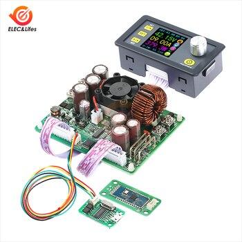 DC-DC de corriente y voltaje constante, entrada 0-60v u salida ajustable 0-50V, 20A max, DPS5020, módulo de fuente de alimentación de comunicación, reductor de voltaje, voltímetro LCD 1