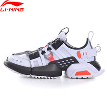 Li-ning homem titan verão estilo de vida à moda sapatos forro clássico lazer sapatos esportivos tênis caminhada diária aglq065