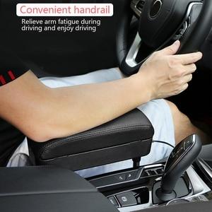 Image 4 - Car Center Console bracciolo Car Styling sedile Auto Gap Organizer scatola bracciolo scatola bracciolo universale per Auto supporto gomito regolabile