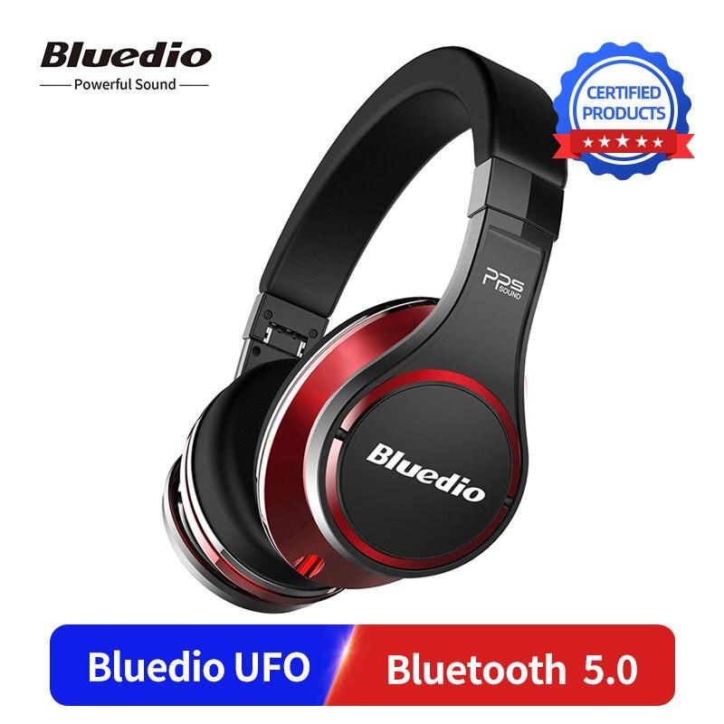 Bluedio UFO поколение Беспроводные HD Bluetooth 5,0 наушники PPS8 звук эффект над ухом гарнитура с 3D DSP стерео звук