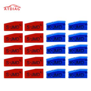 10 sztuk partia król JMD czerwony Chip Car Key Chips wysokiej jakości oryginalny JMD king Chip dla Handy Baby dla 46 48 4C 4D G Chip tanie i dobre opinie ATDIAG CN (pochodzenie) newest version 10cm chip plastic Inne 0 1kg original