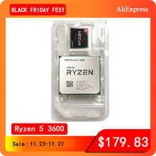 AMD Ryzen 5 3600 R5 3600 3.6 GHz 6 코어 12 스레드 CPU 프로세서 7NM 65W L3 = 32M 100 000000031 소켓 AM4