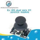 1pcs Free Shipping Higher Quality Dual-axis XY Joystick Module PS2 Joystick Control Lever Sensor For Arduino KY-023 Rated 4.9 /5