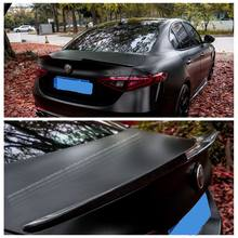 UBUYUWANT de fibra de carbono/FRP Spoiler trasero alerón para maletero alerón de ala para Alfa Romeo Giulia sedán Quadrifoglio Verde 2015-2021