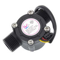 10pcs/lot Water flow sensor flowmeter Hall flow sensor Water control 1-30L/min 2.0MPa YF-S201