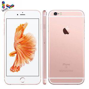 Разблокированный мобильный телефон Apple iPhone 6S Plus, 5,5-дюймовый экран, 12 МП, 2 Гб ОЗУ 16, 32, 64, 128 Гб ПЗУ, двухъядерный, iOS, сканер отпечатка пальца, 4G LTE...
