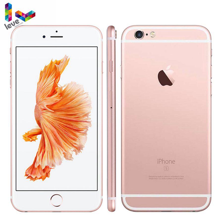 Entsperrt Apple iPhone 6S Plus 5.5 12MP 2G RAM 16 & 32 & 64 & 128GB ROM Dual-Core-Original iOS Fingerprint 4G LTE Verwendet Handy