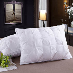 Top Grade Five-star Hotel Only down Pillow Bread Pillow Feather Fabric Pillow Interior Bian Magnetic Therapy Pillow