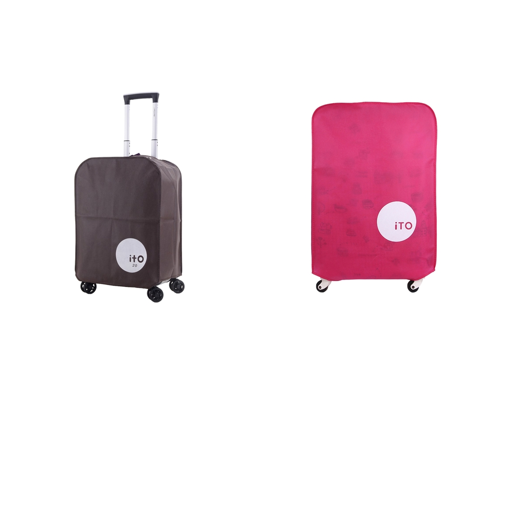 2 Pieces Luggage Suitcase Covers Case Protector Fits For 20'' 30'' Travel Bags