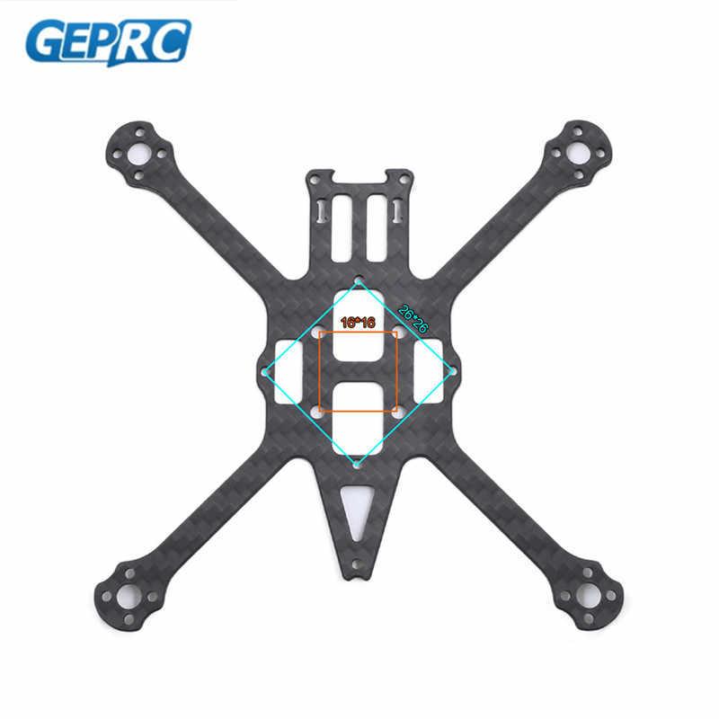 GEPRC GEP-PT PHANTOM зубочистка Фристайл 13,7 г 125 мм 2,5 дюймов FPV Гоночная Рама Комплект для радиоуправляемого дрона квадрокоптера запасные части 50% скидка