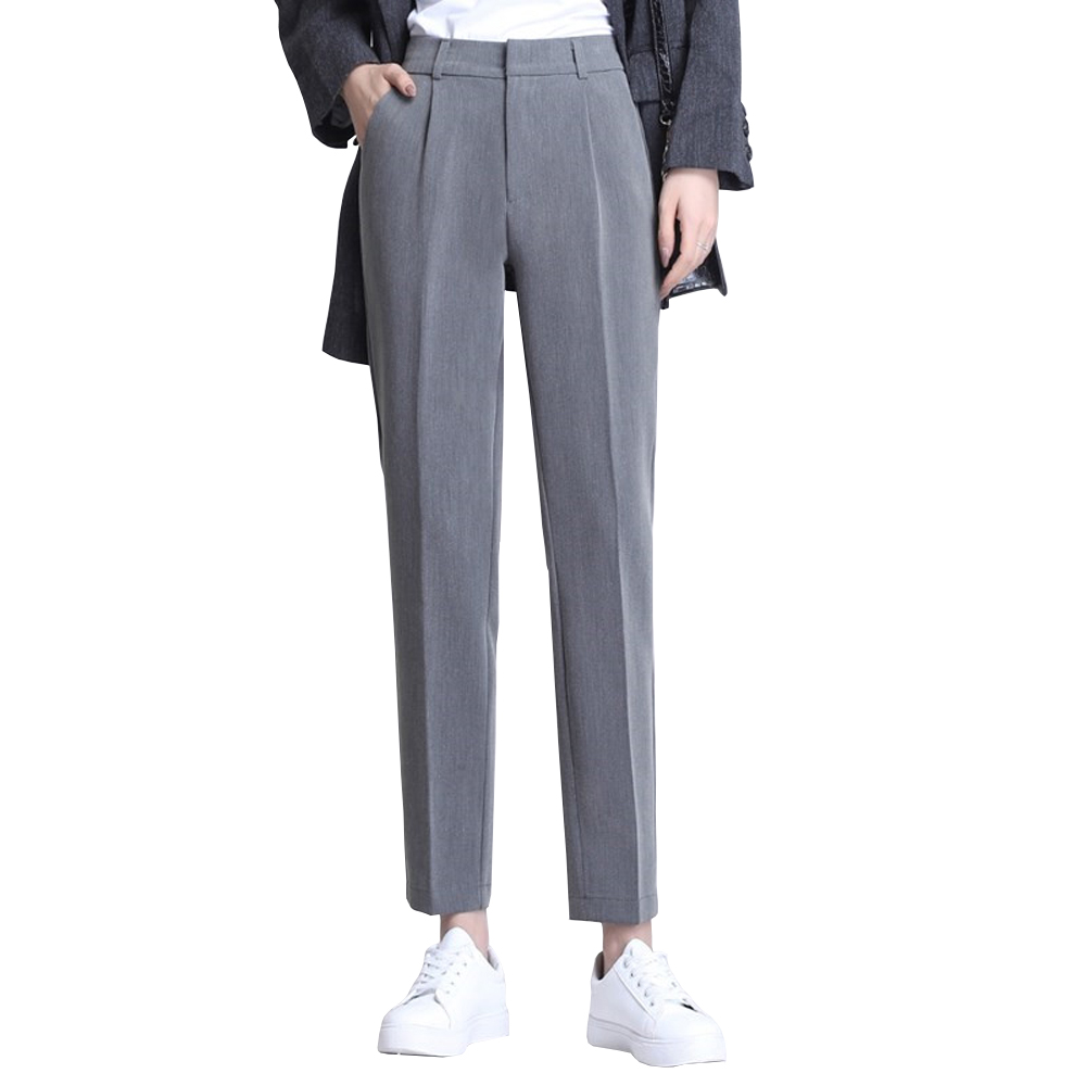 Women Pants Business Work Wear Office Lady Pencil Pant Casual Pantalon Femme Korean Style Slim Straight Leg Pant Female Trousers