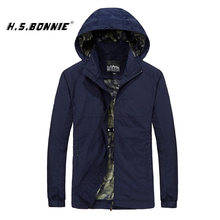 купить Mens Outdoor Spring Jacket 5XL 6XL Waterproof Hooded Male Jacket Thin Casual Sporting Fashion Outerwear Windbreaker Men Coats дешево