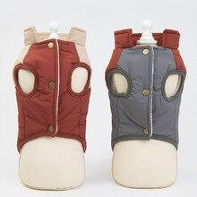 Vest Coat Clothing Down-Jacket Puppy-Cat-Costume Warm Retro-Design Winter Fashion Horn