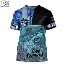 Модная летняя 3d футболка plstar cosmos с изображением морских