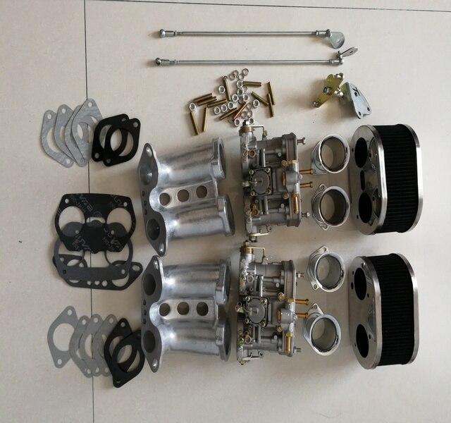 Kit de conversão 40idf 40 mm idf t1 do carburador fajs carb de sherryberg tipo 1 para porsche 356 914 weber dellorto carburador empi