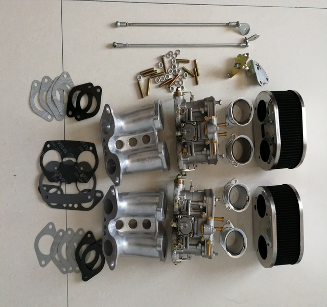 SherryBerg vergaser FAJS carb conversion kit 40IDF 40 mm IDF T1 TYP 1 für Porsche 356 914 Weber dellorto vergaser EMPI