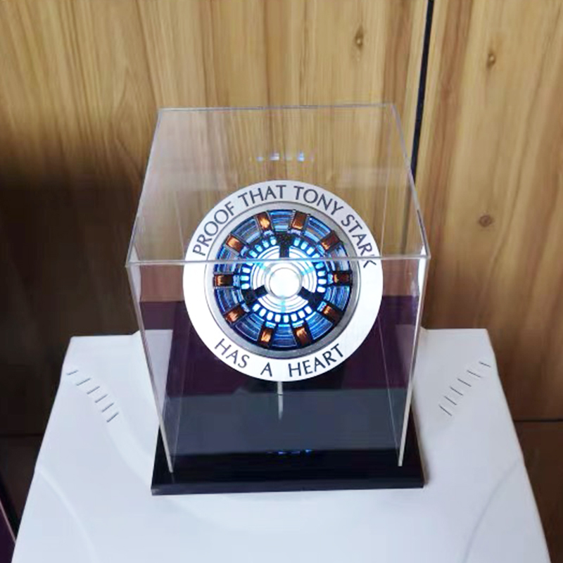 Assemble Arc Reactor Led-Light Action of 1:1-Scale with 8cm Need Manual-Mk1