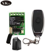 Przycisk włączania komputera pilot zdalnego sterowania przełącznik 5V 6V 9V 12V przekaźnik kontakt Push przycisk RF bezprzewodowy przełącznik 315 433 inteligentny alarmowy w domu cheap YurKuong Przełączniki Wide Working Voltage Ze stopu Aluminium ze stopu Aluminium -110dBm YK-DC4V-12V+JSLJ013