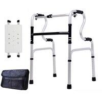 Yaşlılar için bir baston birçok sandalye yürüyüş yardımcıları fonksiyonlu baston yaşlı baston dört ayak yardımı adım sandalye