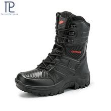 الرجال التمهيد العسكرية القتالية الرجال التمهيد التكتيكية كبيرة الحجم الجيش التمهيد الأحذية الذكور سلامة دراجة نارية الأحذية size40 47