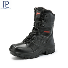 Mens Military boot Combat Mens Boot Tactical Big Size Army Boot Male Shoes Safety Motocycle Boots size40 47
