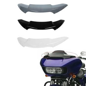 """Motorcycle 4.5"""" Windshield Windscreen For Harley Road Glide FLTRX FLTRXS Ultra FLTRUSE 2015-2020 ABS Plastic"""