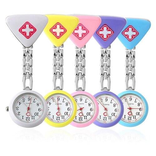Fashion Clock Round  Nurse Doctor Watch Hanging Watch New Zegarek Damski Ladies Women Doctor Medical Watches Christmas Gifts