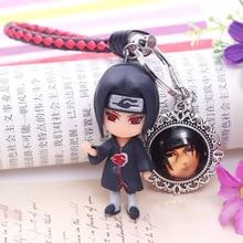 2020 Hot Sale New Naruto Keychain Sasuke/itachi/Kakashi Key Chain Pendant Anime Cartoon Ring key ring Men Keyring