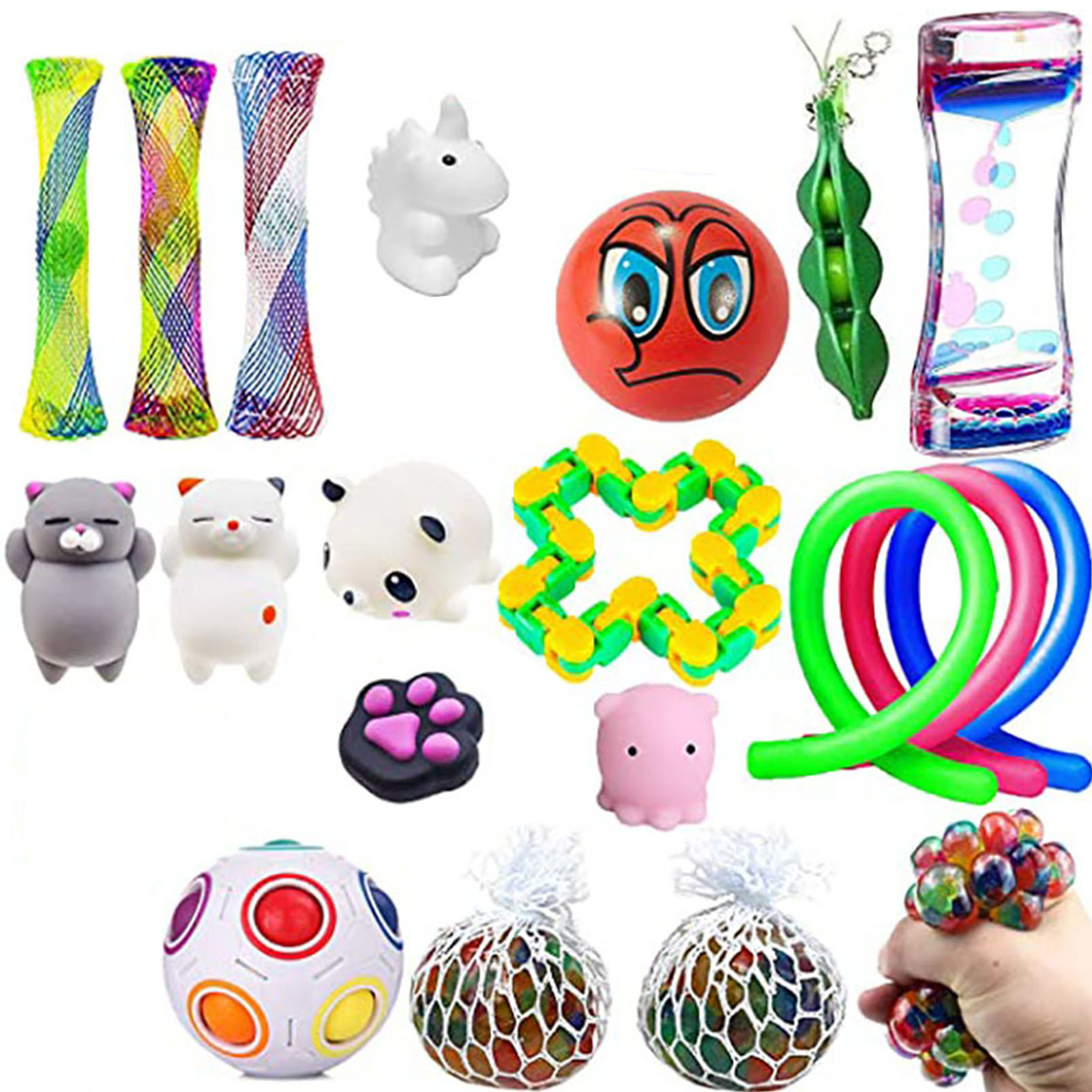 Fidget Sensory Toys Set Autism ADHD Stress Relief Special Need Education Hot !
