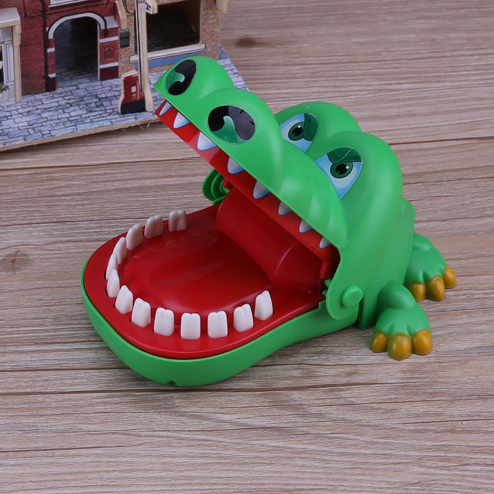 Mouth Bite Finger Toy Animal Series Pulling Teeth Bar Games Toys Kids Funny Toy Cultivate Practical Ability Prank Novelty Gifts
