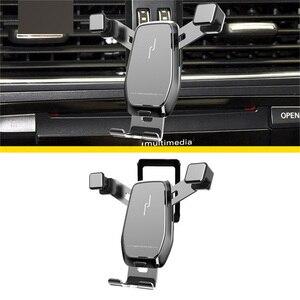 Image 4 - Auto Telefon Halter Für Audi A3 /Q2L /A1 /A4L /A6L /Q5L Air Vent Mount Halterung gewidmet Horizontale und Vertikale Bildschirm Navigation