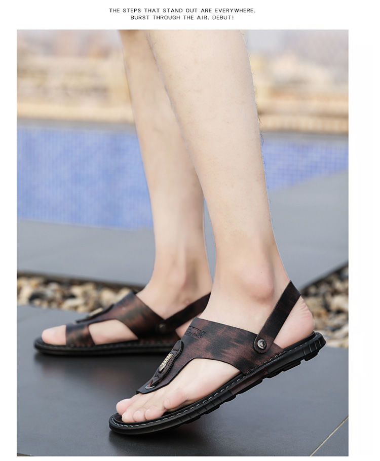verão homens chinelos de desporto ao ar livre sandálias pretas