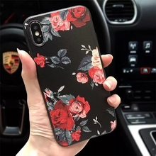 Cute 3D Flowers Phone Case For iphone SF