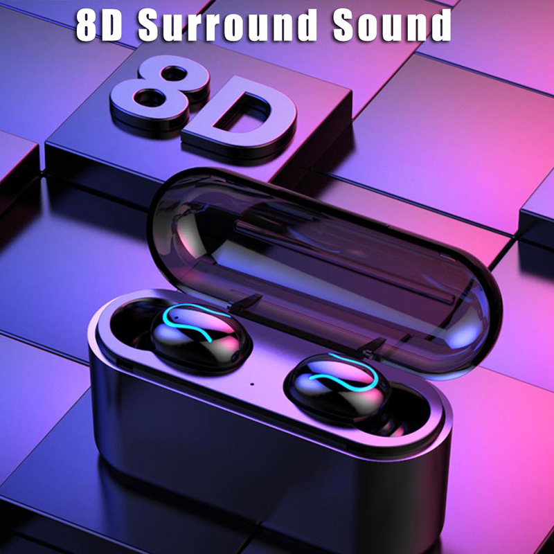 Wireless Earphones Bluetooth Headphones Earbuds 8D Stereo Headset Waterproof Earphone With 3500MAh Charging Box For Iphone Phone
