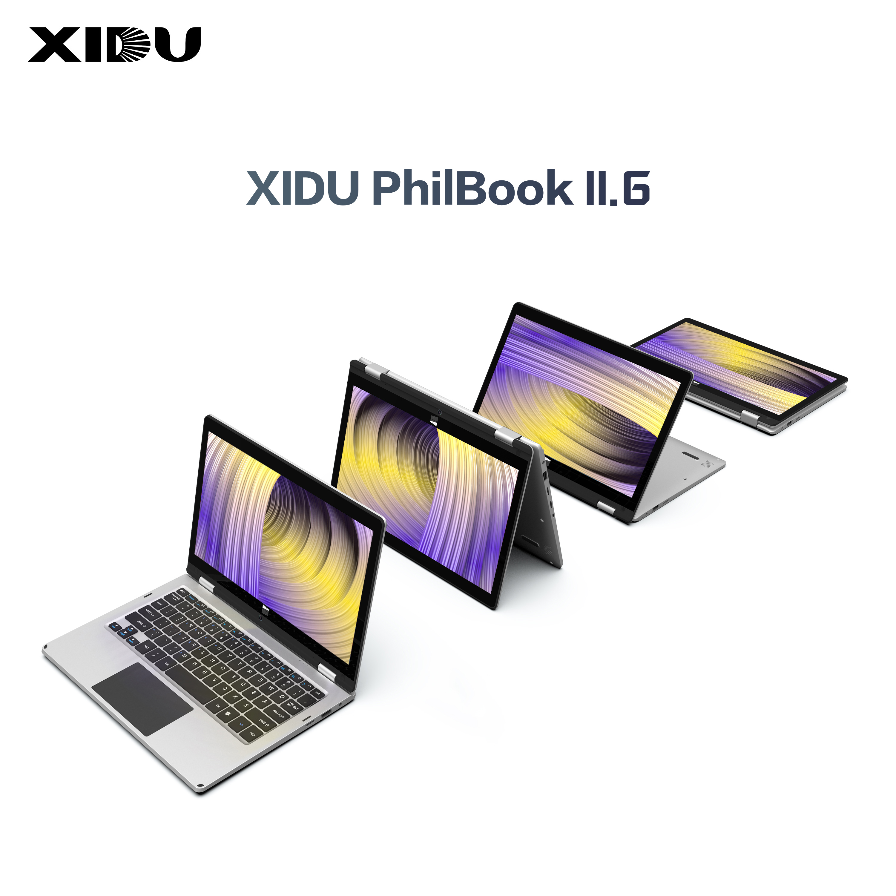 2019 XIDU PhilBook Laptop 11.6 Inch PC Tablet 2 in 1 notebook Touchscreen Windows 10 1080P screen Quad Core-in Laptops from Computer & Office