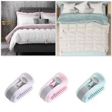 6pcs Quilt Blankets Fastener…