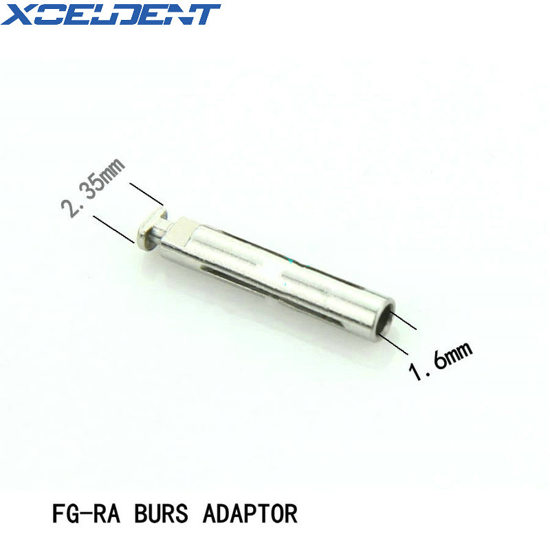 2pcs High Quality Dental Tools FG-RA Burs Adaptor From 1.6mm To 2.35mm