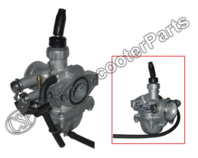 Mikuni VM16 19mm PZ19 Carb Hand Choke <font><b>Carburetor</b></font> For Honda XR50 CRF50 CRF70 50cc <font><b>70cc</b></font> 90cc 110cc ATV Dirt Bike image