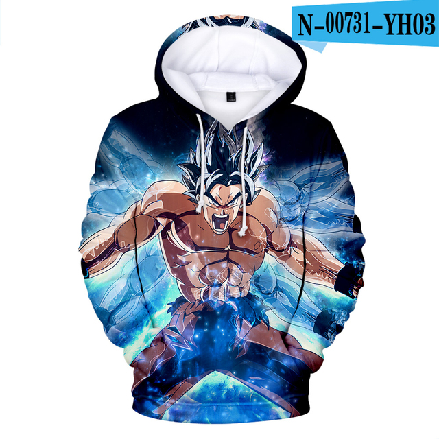 Cosplay Dragon Ball Hoodies 3D Print Sweatshirt
