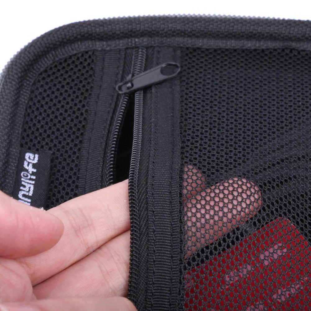 حقيبة التخزين ل GoPro ماكس الأسود الصغير إيفا واقية حقيبة للتخزين المحمولة حقيبة صندوق جبل ل الذهاب برو ماكس عمل كاميرا الملحقات