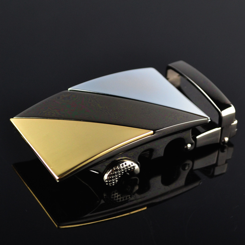 Genuine Men's Belt Head, Belt Buckle, Leisure Belt Head Business Accessories Automatic Buckle Width 3.5CM Luxury Belts LY187859