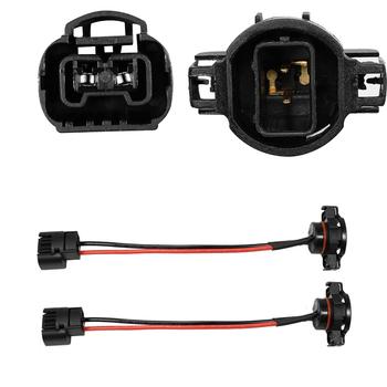 YUNPICAR 5202 H16 rozszerzenia wiązki przewodów gniazdo dla reflektorów światła przeciwmgielne modernizacji pracy w użyciu (zestaw 2) tanie i dobre opinie Drut miedziany