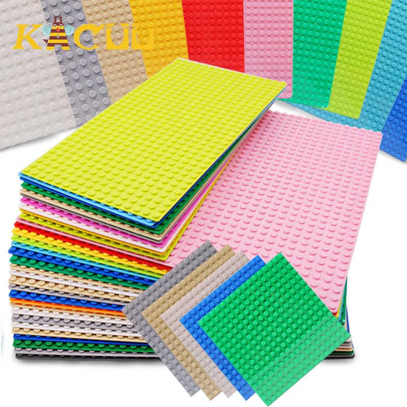 32*32 32*16 16*16 Dots Klassische Kunststoff Blöcke Basis Platten Stadt Straße DIY Bau Ziegel baseplates Spielzeug Für Kinder Geschenke
