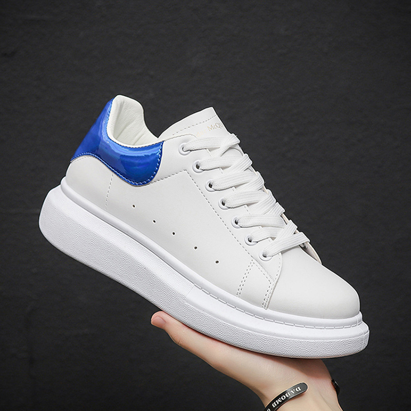 Женская и мужская белая танцевальная Вулканизированная обувь в стиле хип хоп спортивная обувь для бега на платформе Кроссовки Zapatillas Mujer нового размера плюс|Кроссовки и кеды|   | АлиЭкспресс