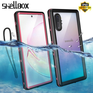 Image 1 - IP68 Waterproof Case For Samsung Note 10 10Plus Case Underwater Diving Swim Proof Dustproof Full Cover For Samsung Note 10+ Case
